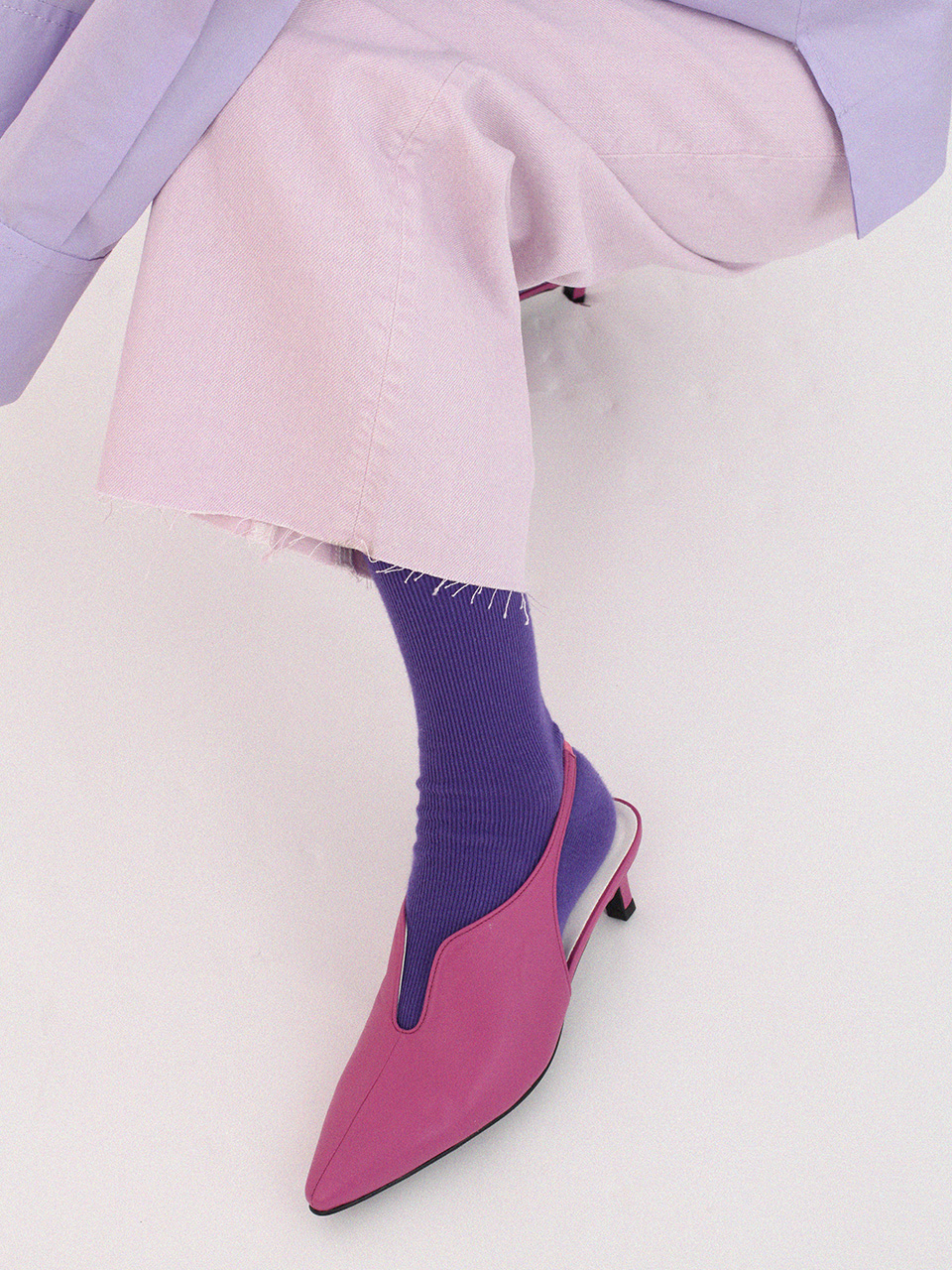 [SOLD OUT] M18006 U slingback (Violet)