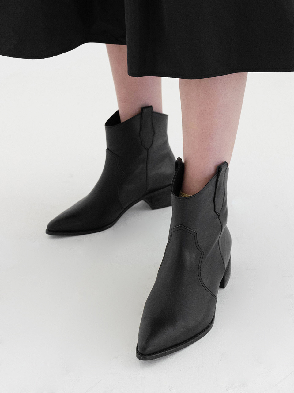 Mrc064 Weston Ankle Boots (Black)